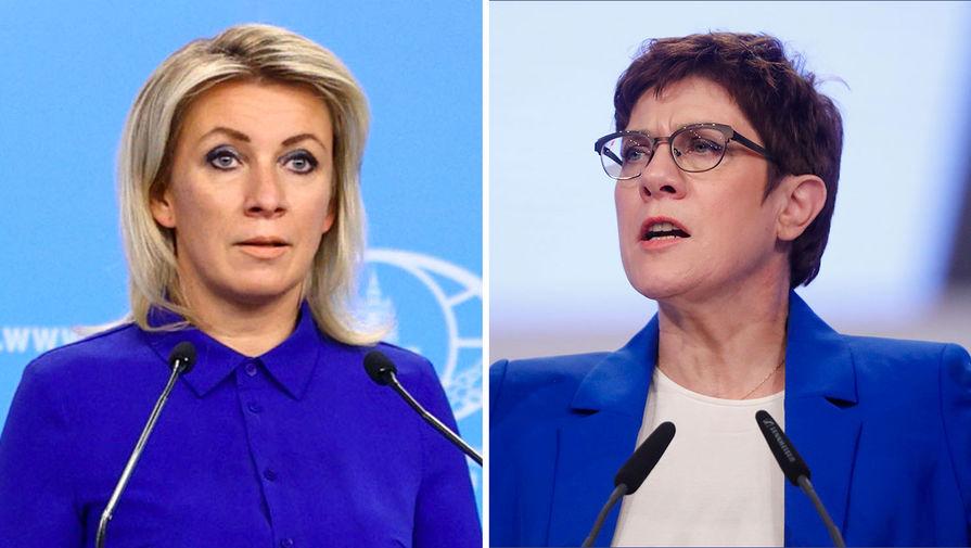 Зависимая Германия: в МИД РФ ответили министру обороны ФРГ