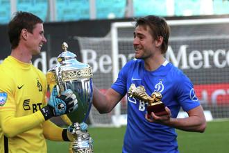 Кирилл Панченко (справа) должен стать одним из лидеров «Динамо» и в РФПЛ