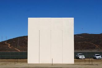 Прототип стены между Мексикой и США, 23 октября 2017