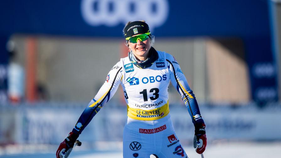 Шведская лыжница Майя Дальквист