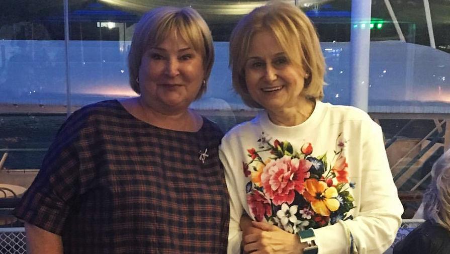 Татьяна Полякова и Дарья Донцова