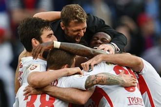 «Спартак» завоевал титул чемпиона России по футболу за три тура до завершения сезона
