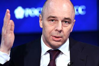 Министр финансов России Антон Силуанов во время теледебатов Bloomberg в рамках Санкт-Петербургского международного экономического форума, 1 мая 2017 года