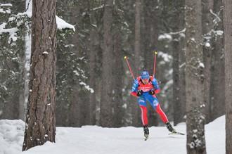Российские биатлонисты показывают неплохую готовность к чемпионату мира