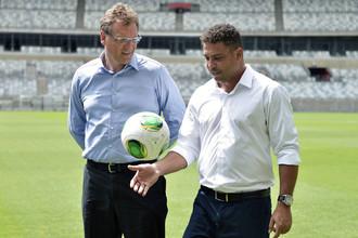 Роналдо усиленно занимается организацией чемпионата мира-2014
