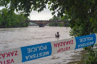 Прага приготовилась к пику наводнения