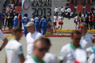 Трансляция четвертого медального дня Универсиады в Казани