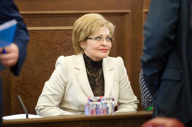 Начальник УФМС России по городу Москве Ольга Кириллова
