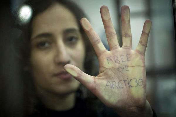 Файза Улахсен. <br />Фотография: Дмитрий Шаромов / Greenpeace