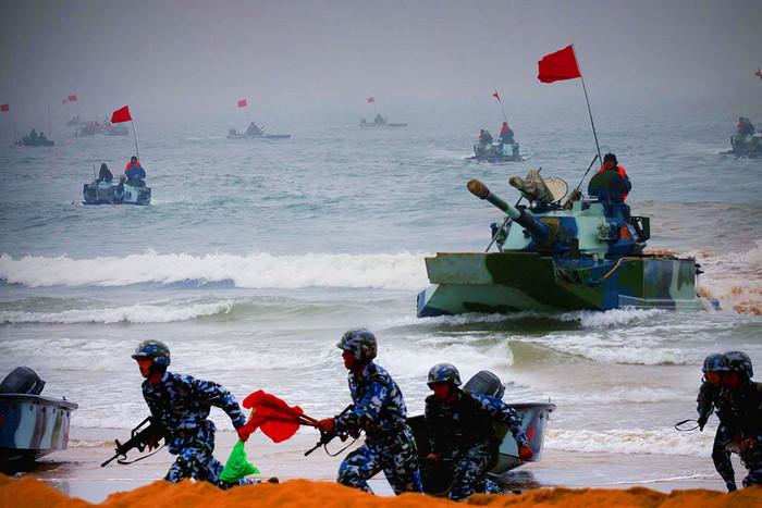 Совместные российско-китайские военные учения
