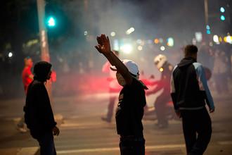 Столкновения выходцев из Эфиопии и полиции Израиля в Тель-Авиве