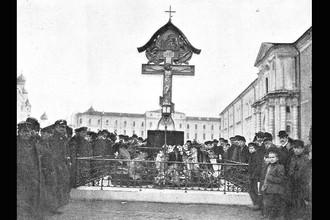 Памятник князю Сергею Александровичу в Кремле