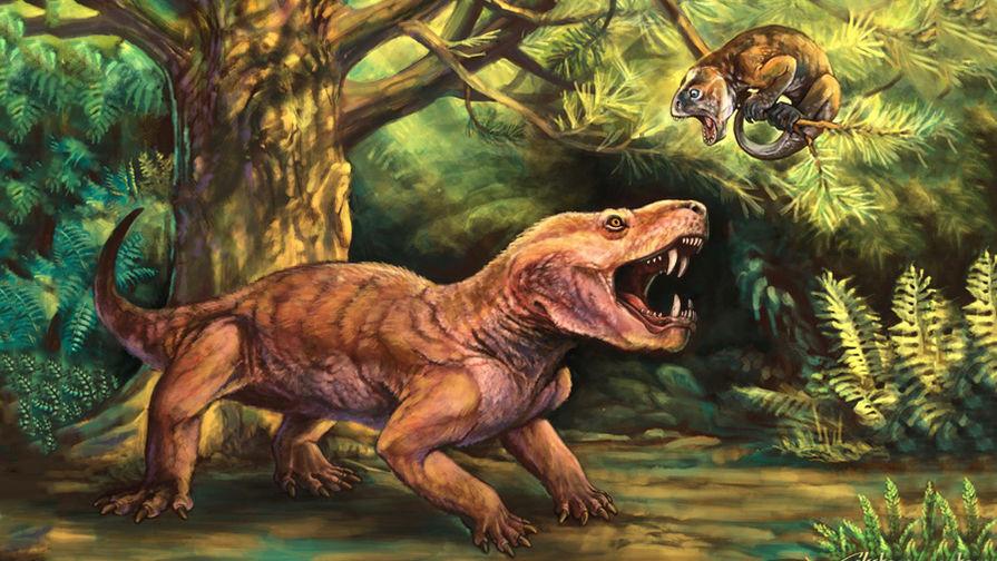 Более крупный хищник получил название Gorynychus masyutinae — в честь фольклорного Змея...