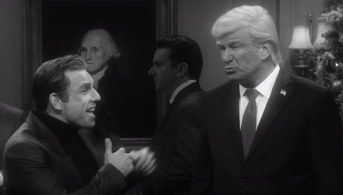 Кадр из «It's a Wonderful Trump»
