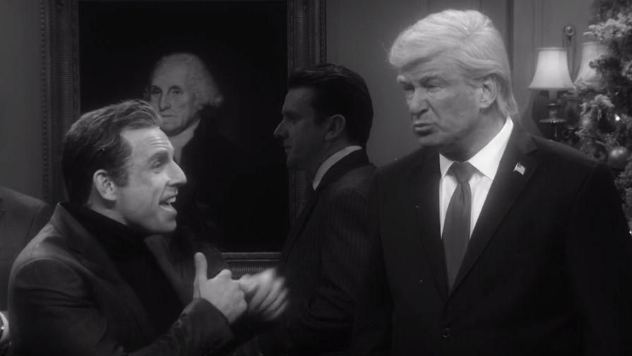Трамп обиделся на NBC за пародийный ролик про него