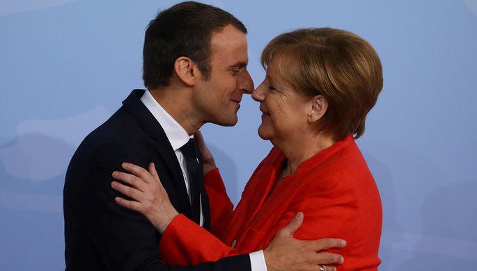 ФРГ и Франция решили обновить Елисейский договор