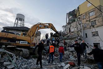 Последствия землетрясения в Албании, 26 ноября 2019 года
