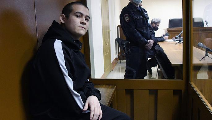 Рамиль Шамсутдинов на заседании 2-го Восточного окружного военного суда в Чите, 21 января 2021 года