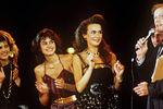 1988 год. Конкурс красоты «Московская красавица-88». Финалистки конкурса отвечают навопросы Михаила Задорнова