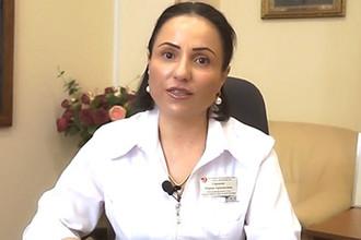 Марина Сармосян (кадр из видео)