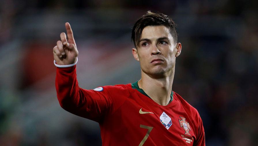 Криштиану Роналду в составе сборной Португалии