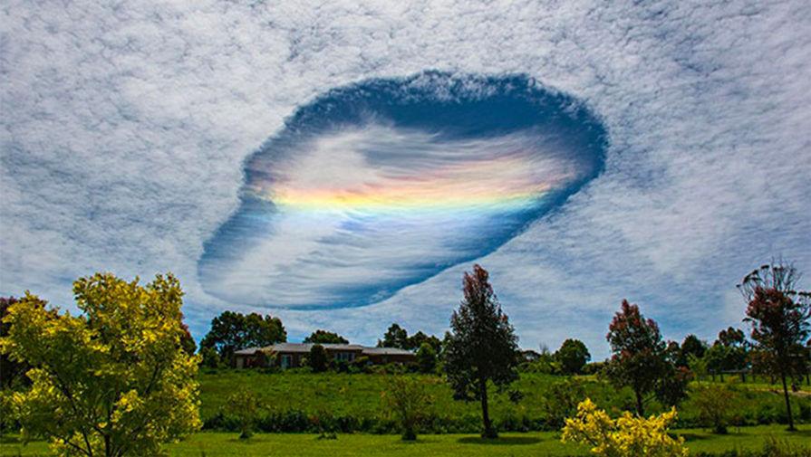 Необычное небесное явление удивило пользователей соцсетей