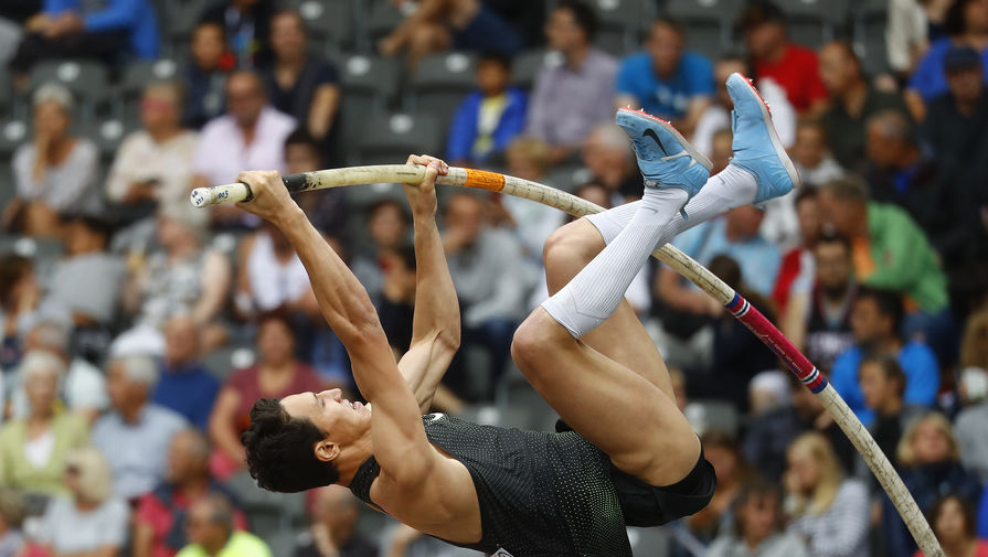 Russian Morgunov won silver in pole vaulting at the European Athletics Championships