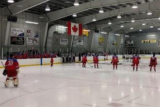 Выставочный матч «Канада в белом» — Россия (U-17)