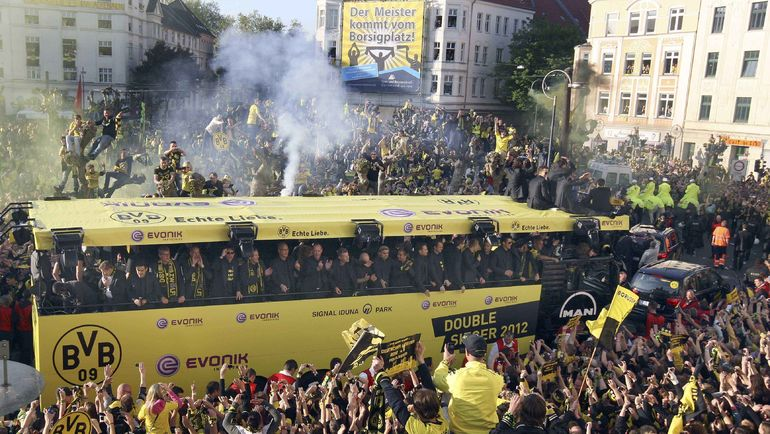 Автобус дортмундской «Боруссии»