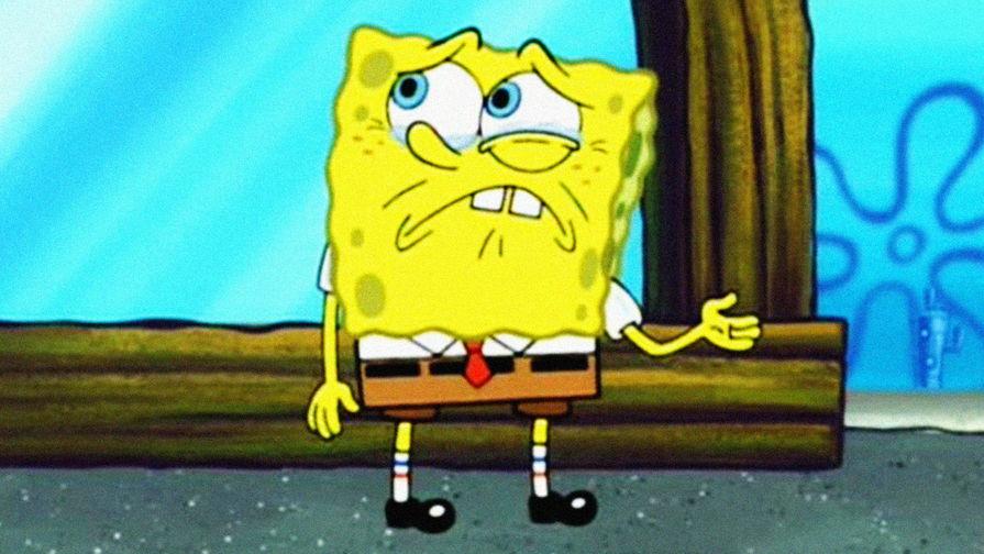Губка Боб в кадре из мультфильма «Губка Боб Квадратные Штаны»