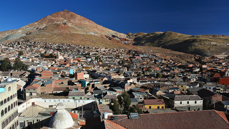 Горнозаводской город Потоси, Боливия