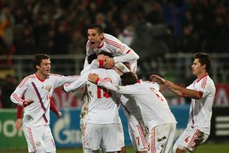 После ничьей с чехами в Екатеринбурге футболистам российской «молодежки» и испанцы были не страшны