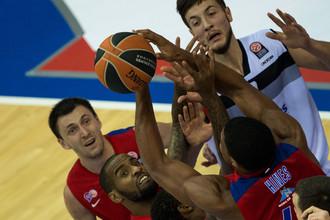 ЦСКА одержал третью победу в Евролиге
