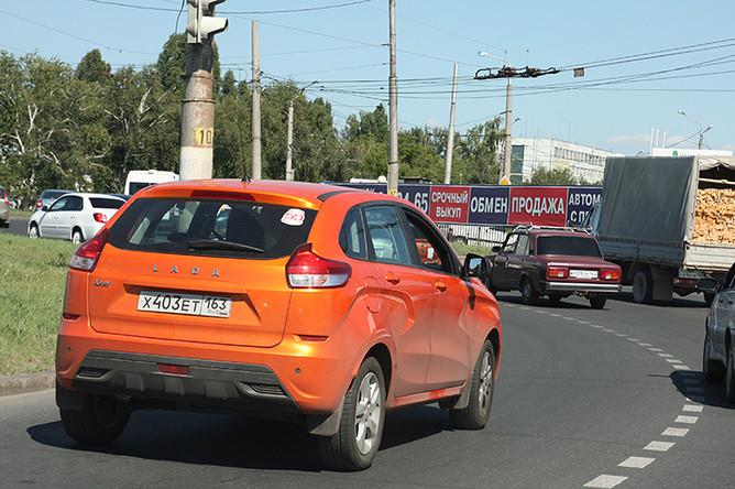 Количество автомобилей Lada на дорогах зашкаливает