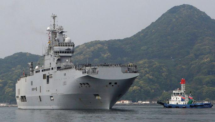 Российские «Мистрали»: в Крыму построят десантные корабли