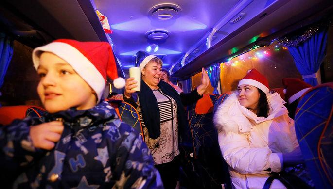 От Калуги до Нью-Йорка: где и как россияне отметили Новый год