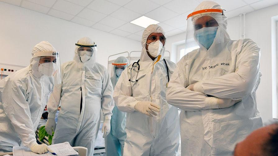В России за сутки подтвердились 9 167 случаев коронавируса