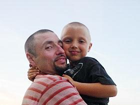 Сергей Аксенов с сыном Иваном