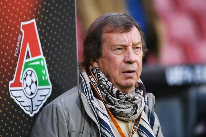 Главный тренер «Локомотива» Юрий Семин