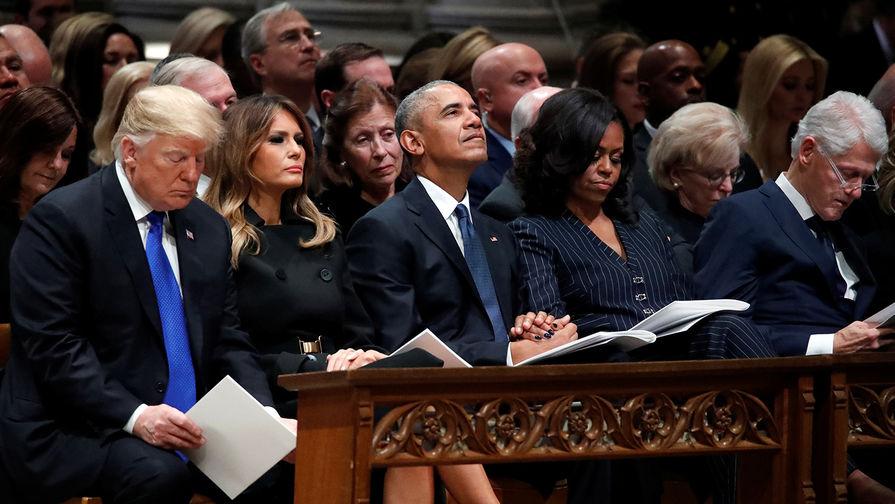 В Вашингтоне проводили в последний путь Джорджа Буша-старшего