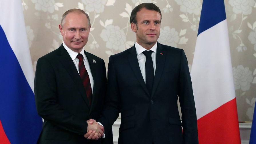 Макрон назвал место и дату встречи с Путиным