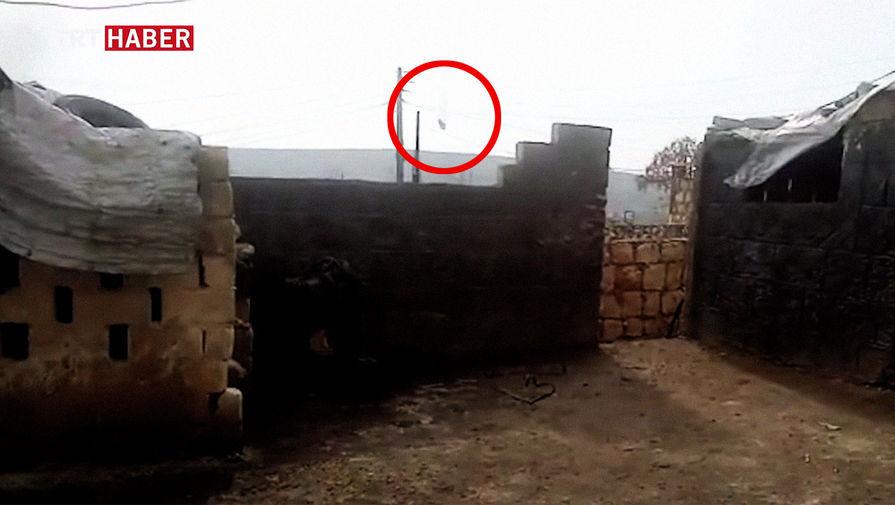 Второй за неделю: в Идлибской зоне сбили сирийский вертолет