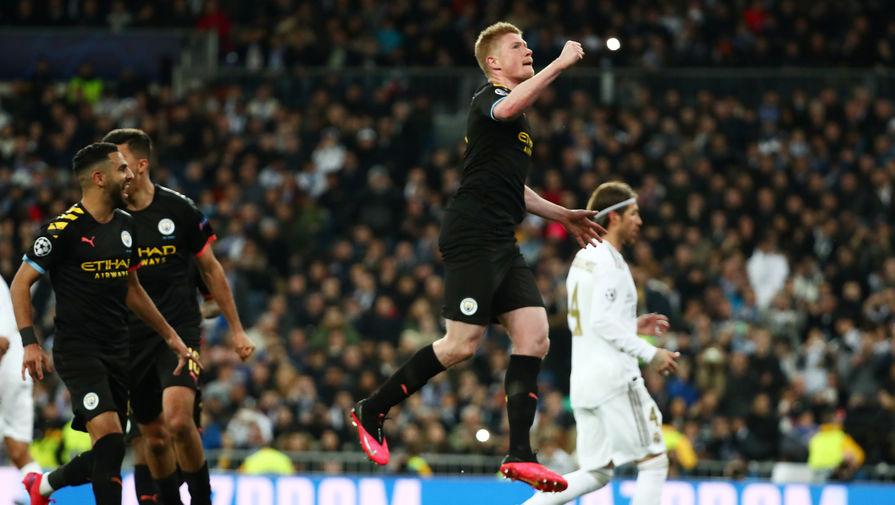 Эпизод матча «Реал »- «Манчестер Сити»