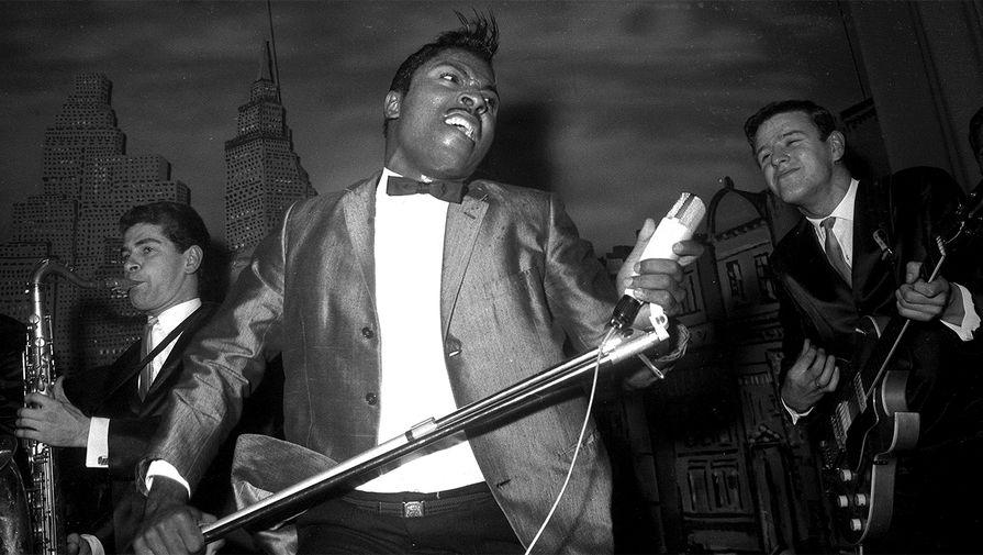 Литл Ричард во время выступления, 1962 год