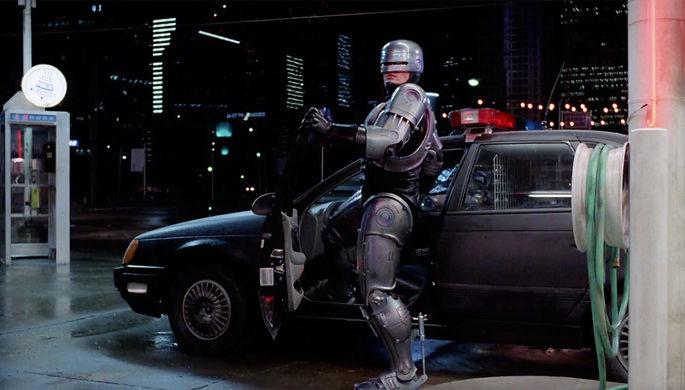 Кадр из фильма «Робокоп» (1987)