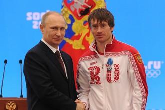 Владимир Путин (слева) и Максим Вылегжанин