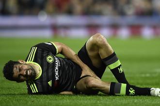 Известный симулянт Диего Коста может похвастать званием чемпиона Англии