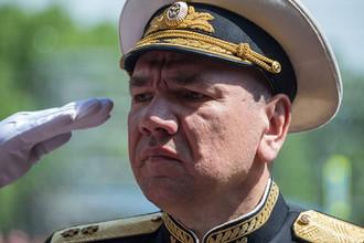 Вице-адмирал Александр Моисеев, назначенный командующим Черноморским флотом