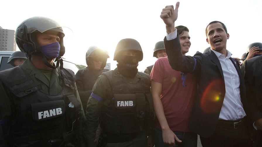 В венесуэльской армии растет недовольством режимом Мадуро, заявил Гуайдо