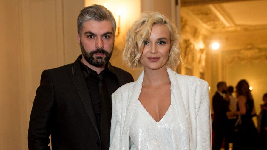 Полина Гагарина с мужем Дмитрием Исхаковым, 2016 год